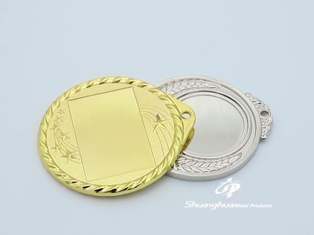 Custom sports blank medal with your own design