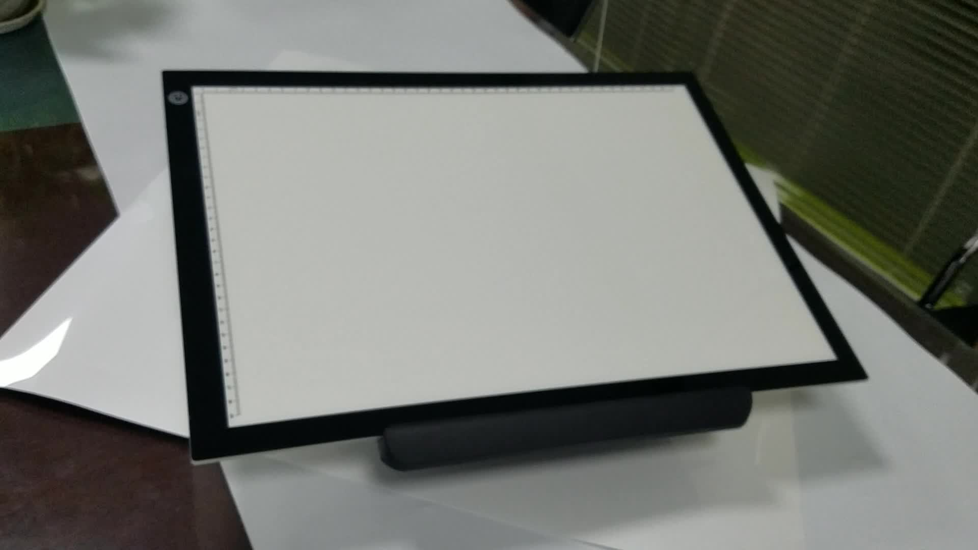 New product idea 2019 Electronic digital products 18.5*13.6 inches A3 LED drawing light board LED stencil light pad