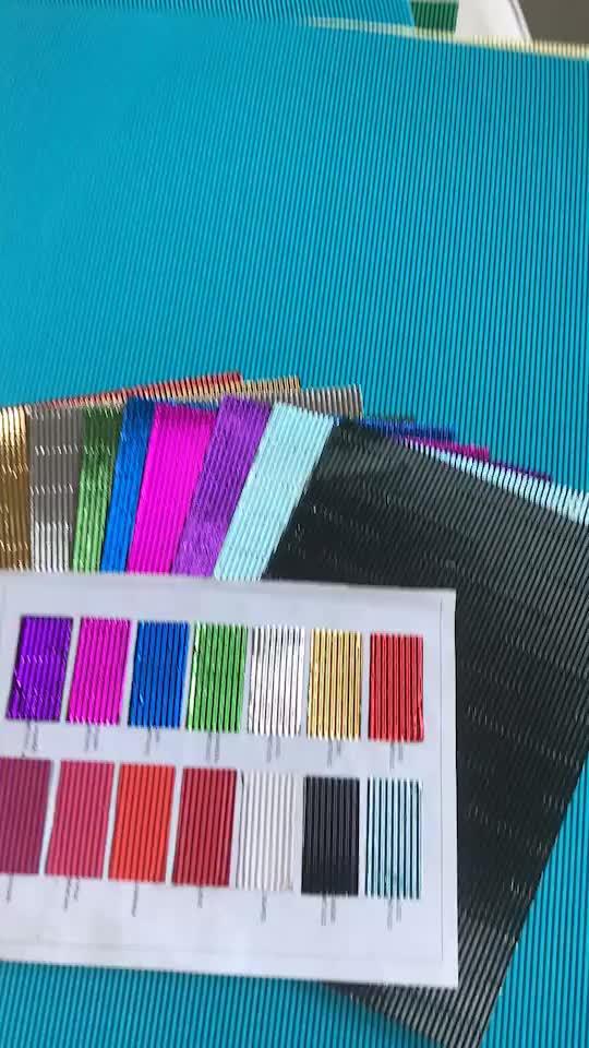 FSC लेपित चमक रंग नालीदार कागज गत्ता शीट क्राफ्ट रंगीन उभरा नालीदार बांसुरी कागज