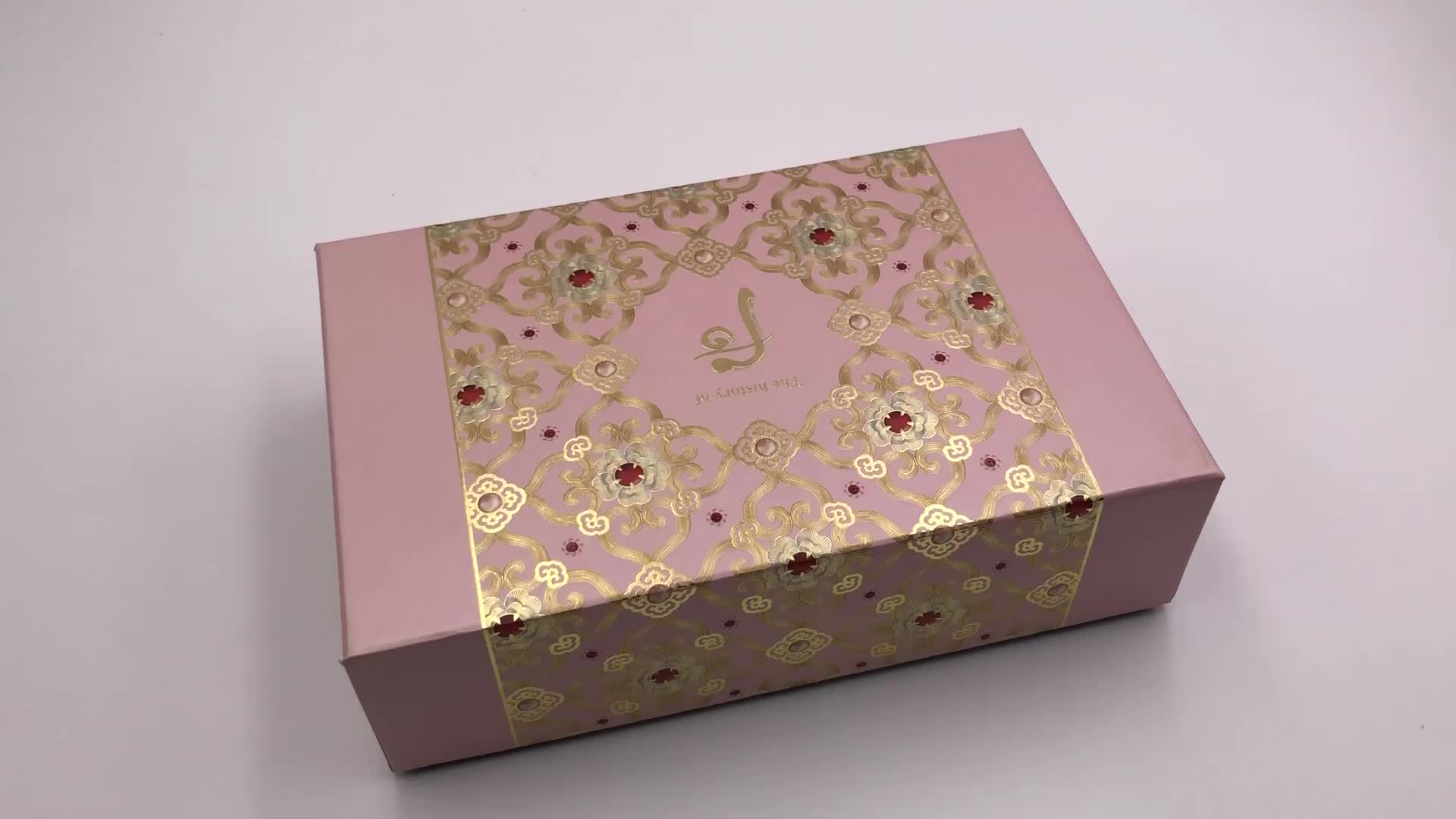 Hot Sales Custom Cosmetic Gift Packaging Box In Market With Plastic Insert