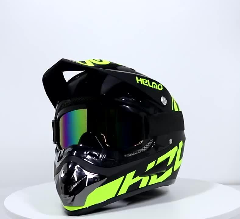 Đua Xe Chuyên Nghiệp Motocross Đội Mũ Bảo Hiểm Xe Máy Đội Mũ Bảo Hiểm Xe Máy Casco Off Road Trẻ Em Phim Hoạt Hình Xe Máy Đội Mũ Bảo Hiểm