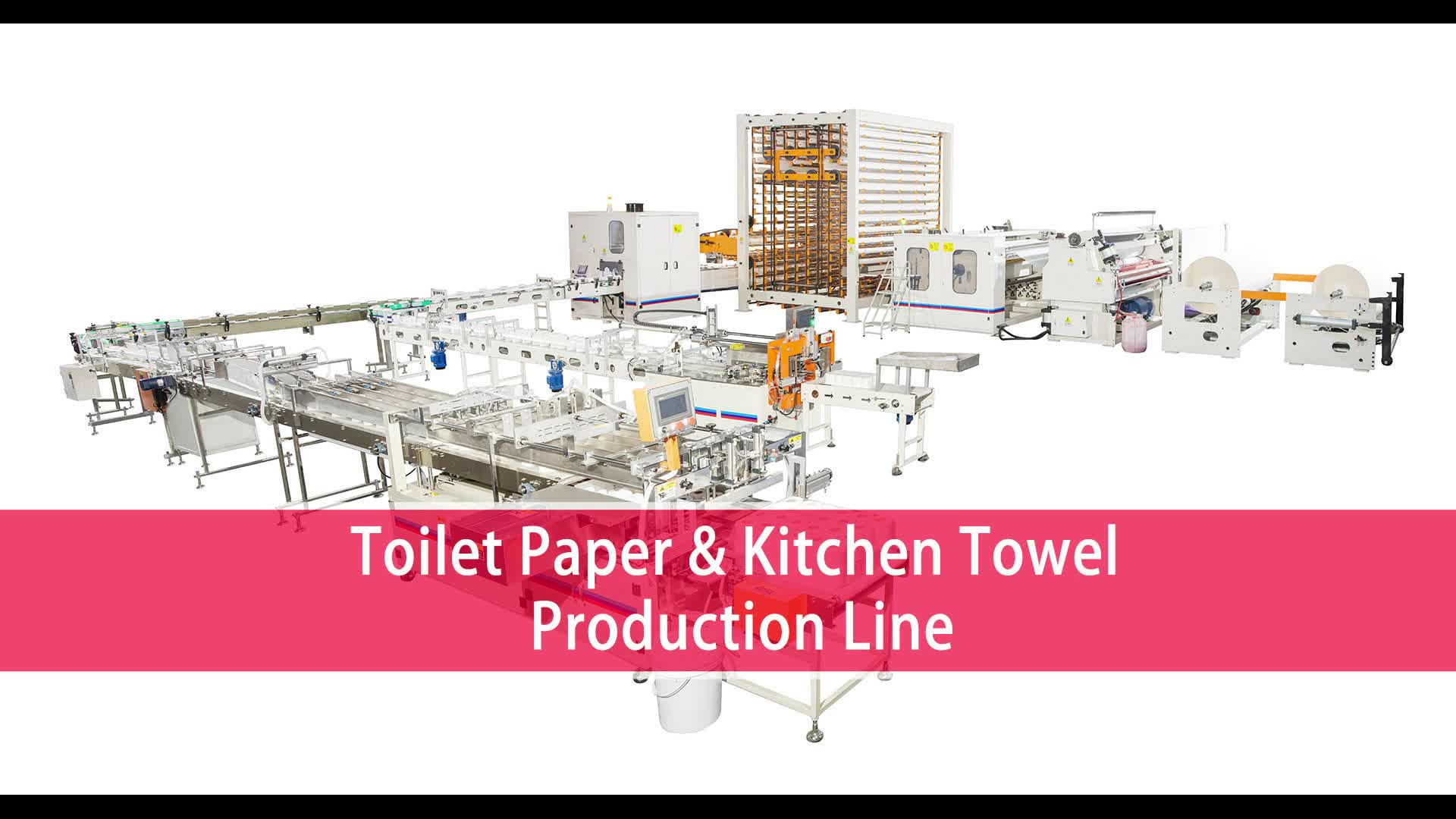 Factory Sale Low Price Tissue Paper Production Line Toilet Paper Making Machine For Sale