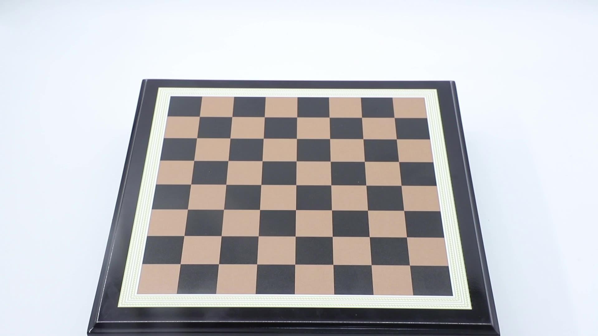 Gran oferta, venta al por mayor, piezas de ajedrez chapadas en oro/plata para la venta