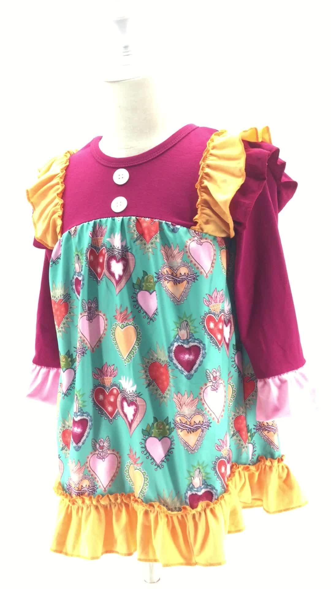 Toptan butik çocuk giyim çocuk giysileri Cadılar Bayramı kostüm bebek kız elbise