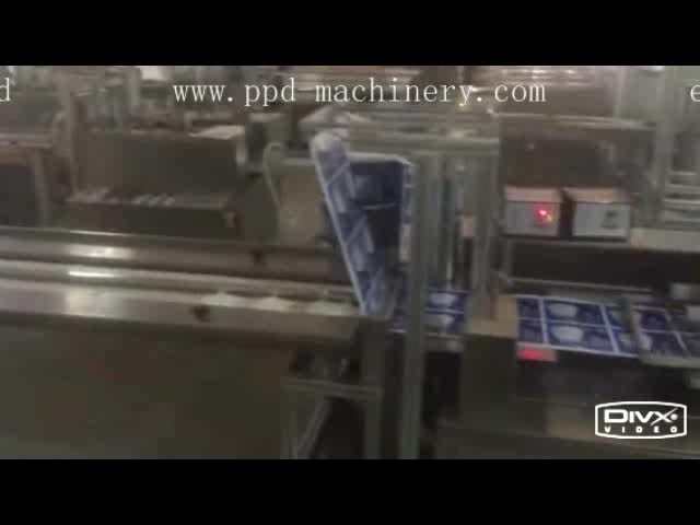 Paper PE PT BOPP Mask Automatic Four Side Sealing Packing Machine