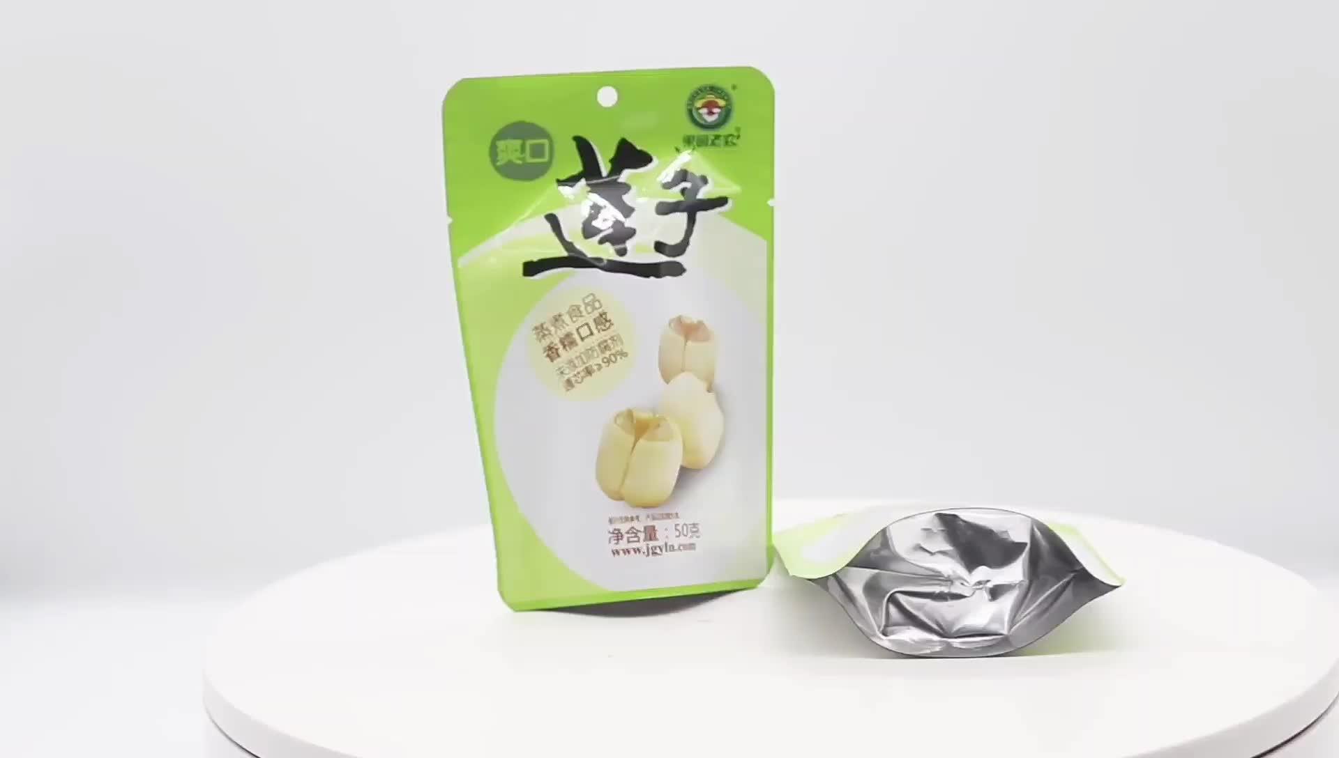 Fabrik Preis Hohe Temperatur Beständig Lebensmittel Verpackung Aufstehen Snack Beutel Retorte Beutel