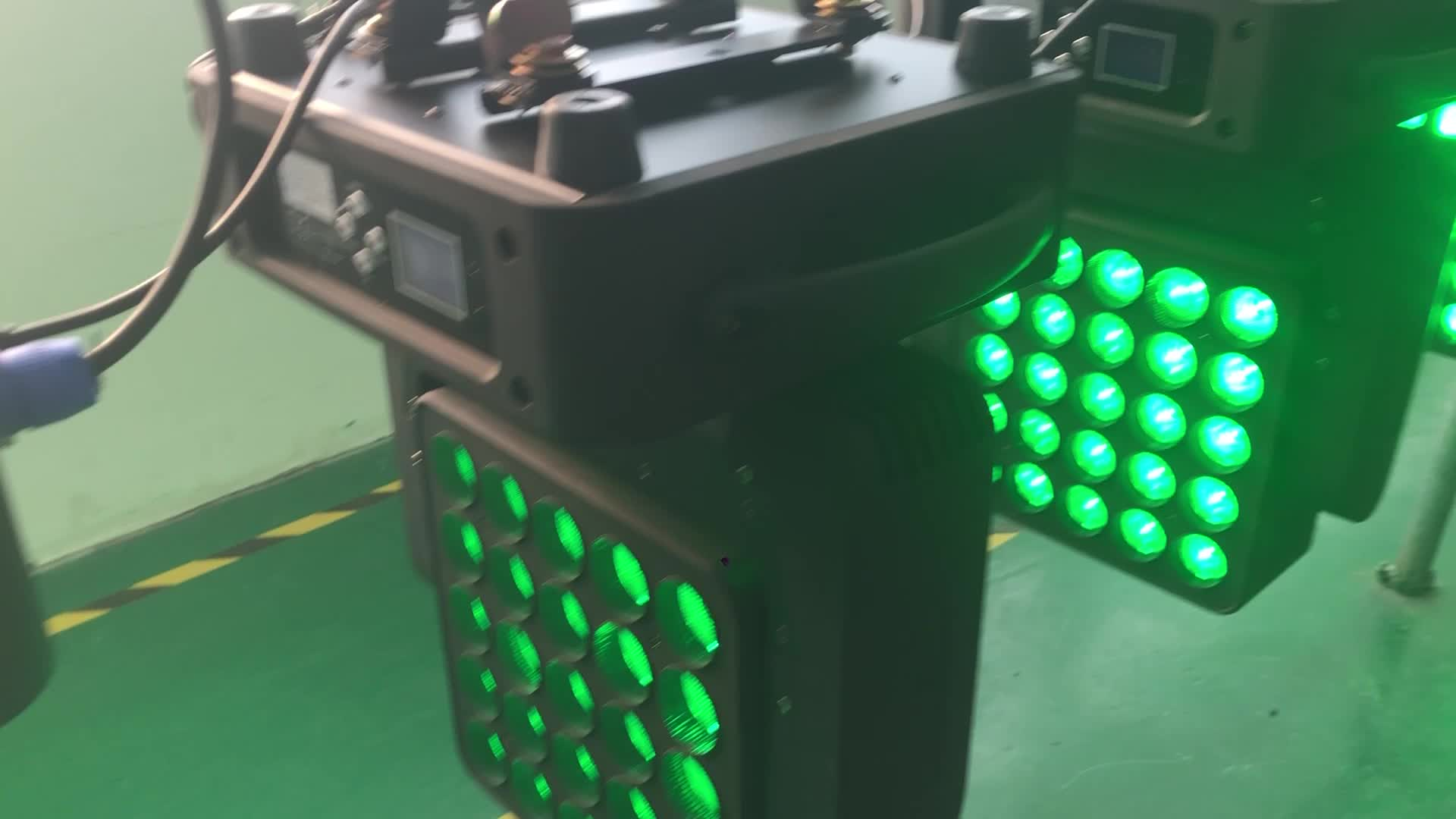 बहतरीन बनाने पिक्सेल प्रभाव या बनाने के उपयोग में निर्मित रंग मैक्रोज़ 25X10 W आगे बढ़ सिर रोशनी