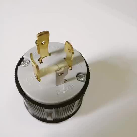 nema l14 30p 3 pole 4 wire 30 amp 125 250 volt generator 4. Black Bedroom Furniture Sets. Home Design Ideas