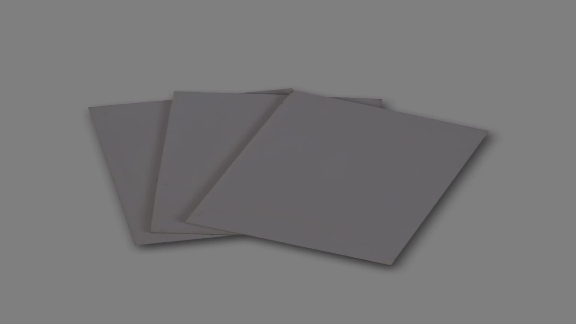 Hohe dichte schwarz wasserdicht pvc laminiert form bord pvc schalung bord pvc panel weiß 6mm
