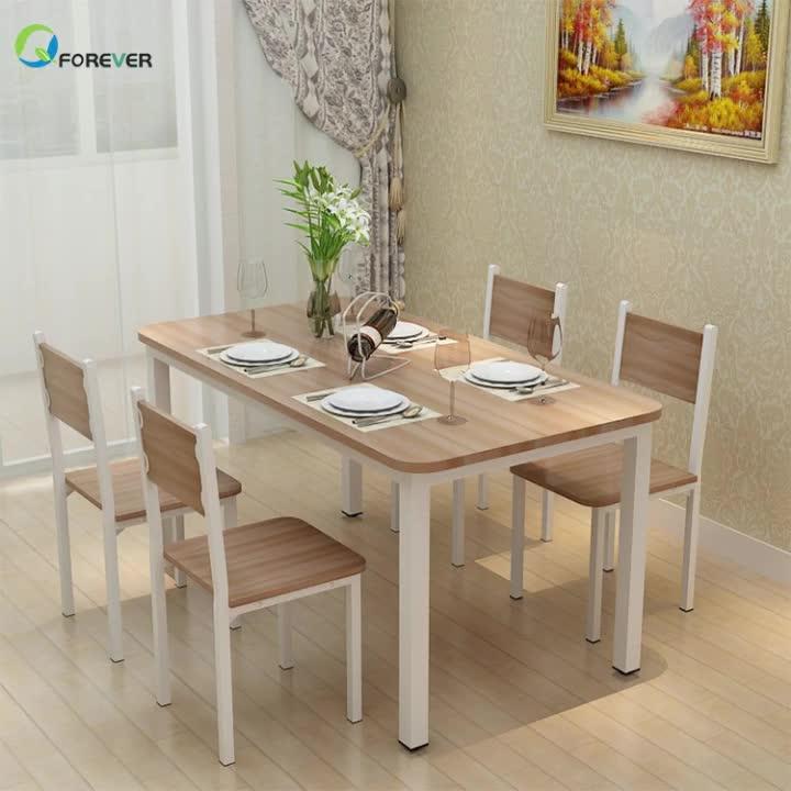 다기능 Small 아파트 강-나무 식사 표 및 의자