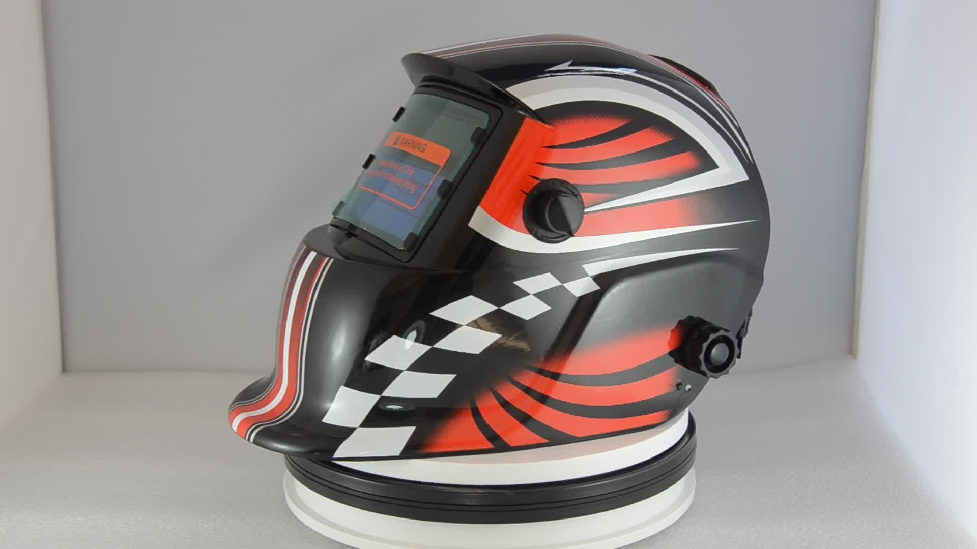 2years warranty ce solar power welding helmet auto darkening