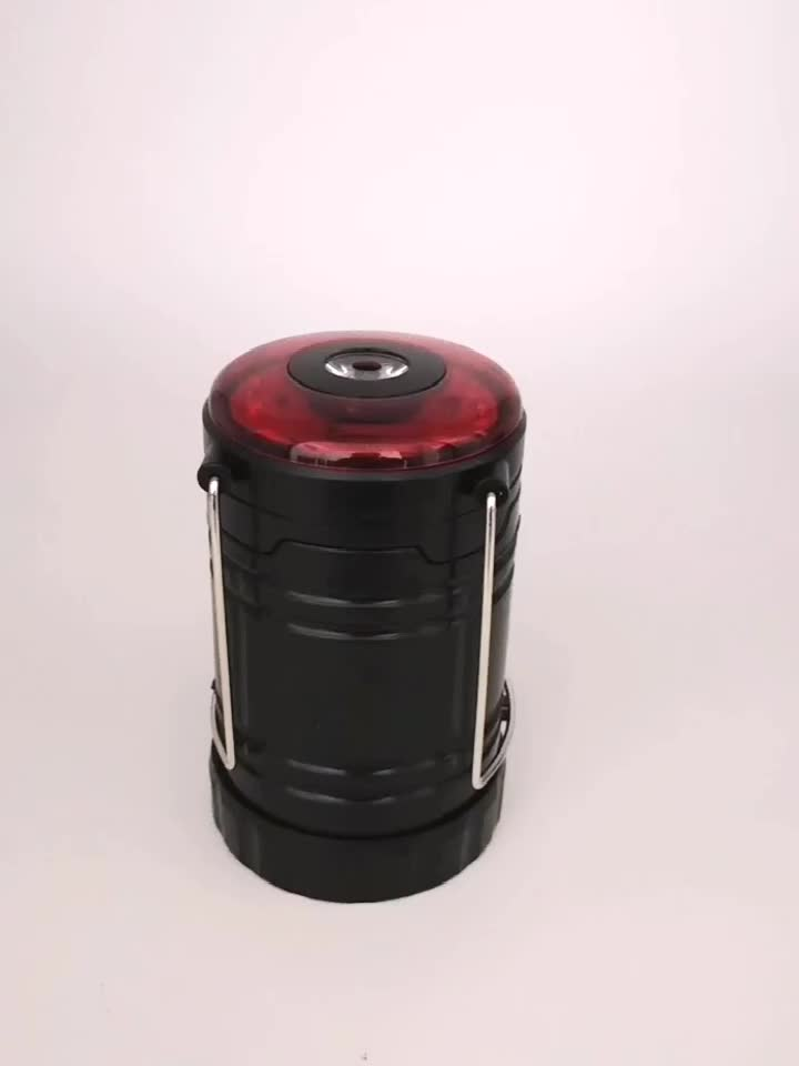 new multifunctional magnetic 1w+3w COB LED warning light outdoor camping lantern