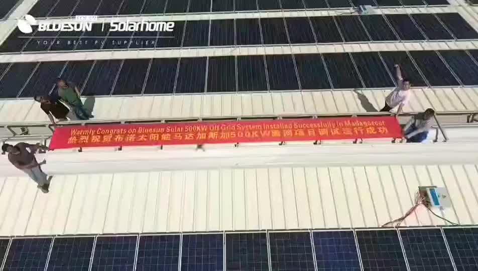 Bluesun solar unternehmen home solar power system 320 watt solar panel großhandel preis pro watt monokristalline silizium solar panel