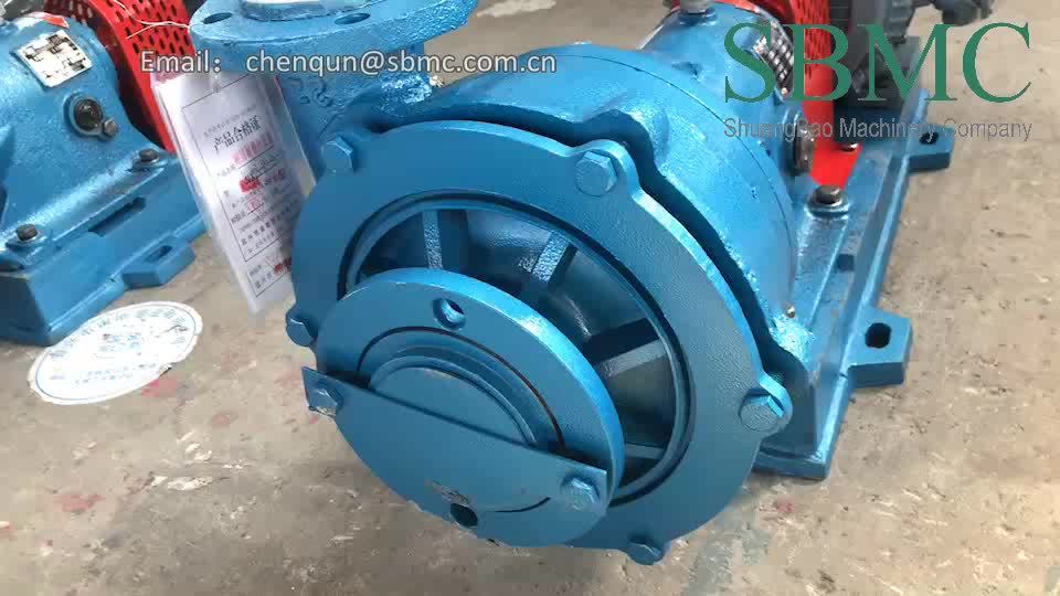 UHB-ZK 40/10-20 small sand suction corrosive resistant centrifugal slurry pump price