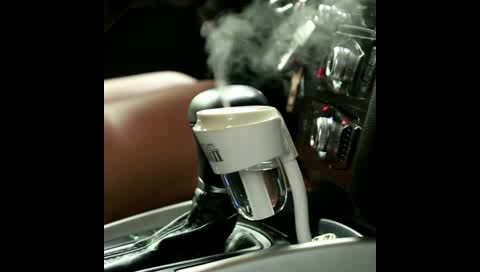 Hot Selling Popular Generation 2 Ultrasonic Aroma Car Diffuser Humidifier With USB charger
