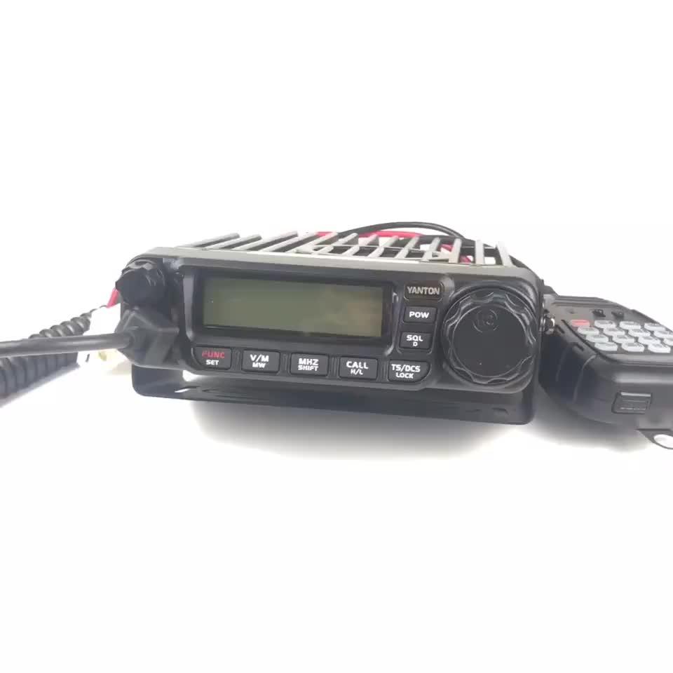 YANTON T TM-8600 lập trình VHF 25-45 watts điện thoại di động hai chiều đài phát thanh với walkie talkie