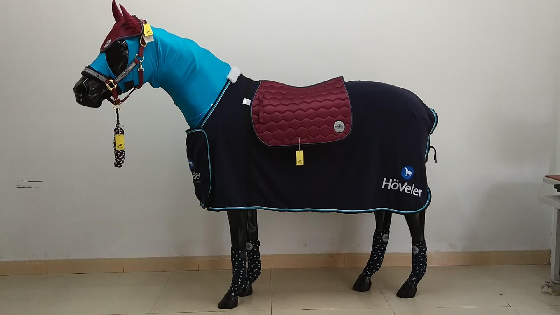 Top kwaliteit coloful paard hoofdstel