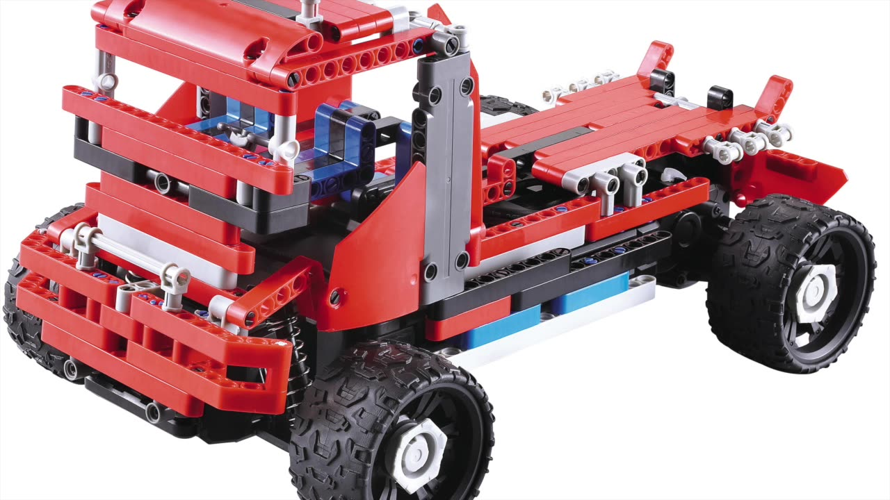 8 in 1 remote control RC building block car set toy