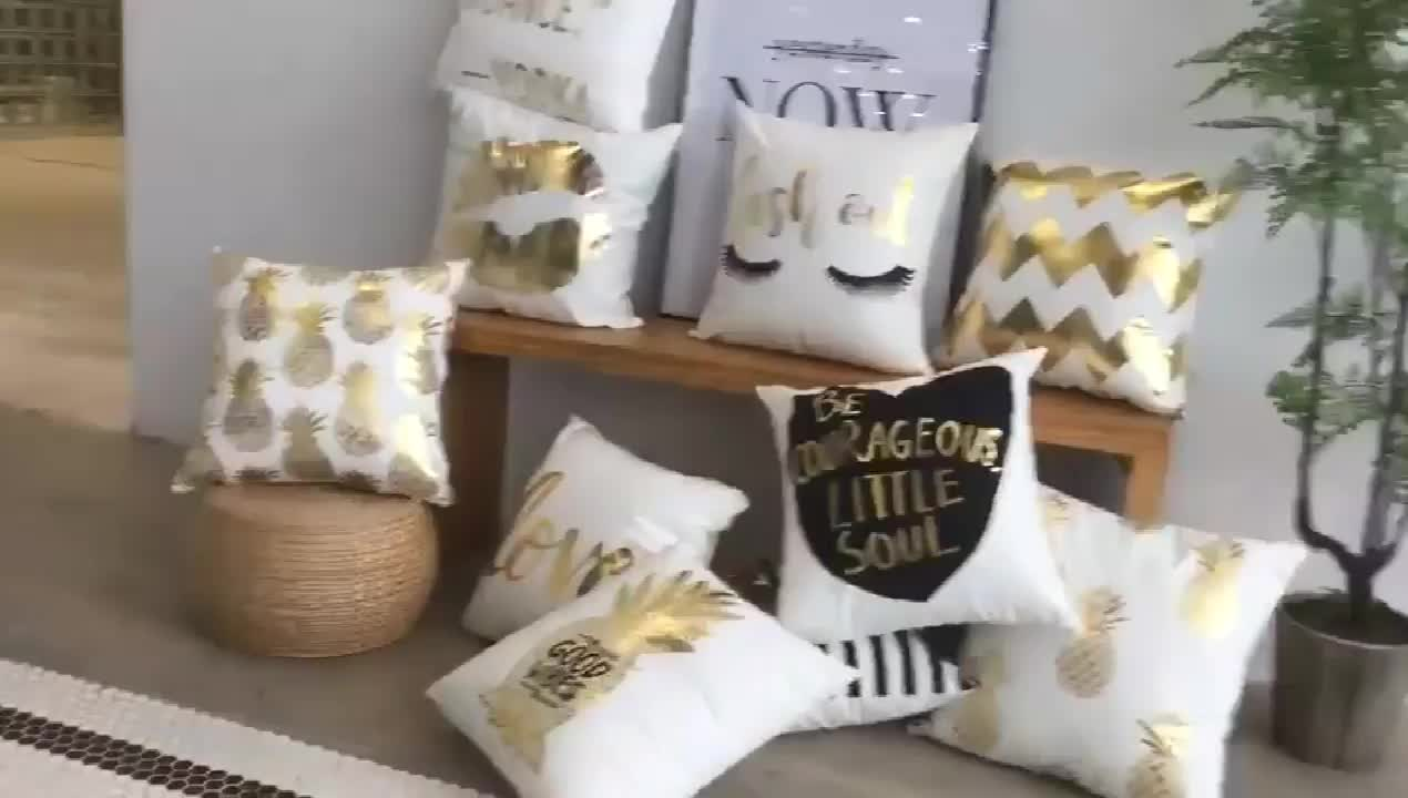 100% cotton canvas  wholesale ready made 16 color geometry designs decorative Embroidered cushion cover