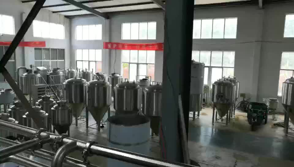 Hot sale stainless steel 500-10000L bright beer tank for beer conditioning and maturation