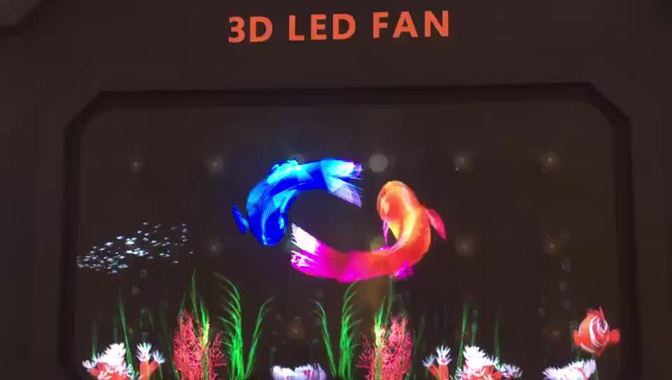 Wiikk 42/65/100 센치메터 홀로그램 LED display 3d 홀로그램 상자 홀로그램 led 팬 광고