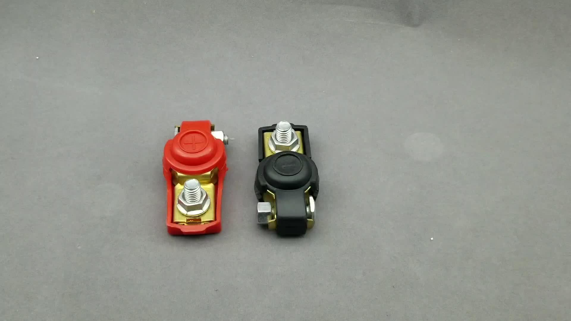 Car battery terminal expander clamp connecter 12V brass positive&negative