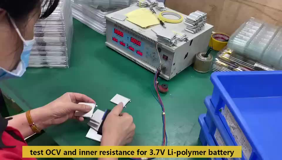 Pequeño tamaño de batería de Lipo de lp552035 350mah 3,7 v para bluetooth