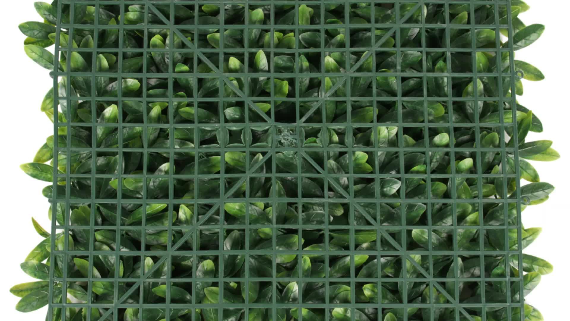 IRDP17-4 a buon mercato artificiale pannello di recinzione erba