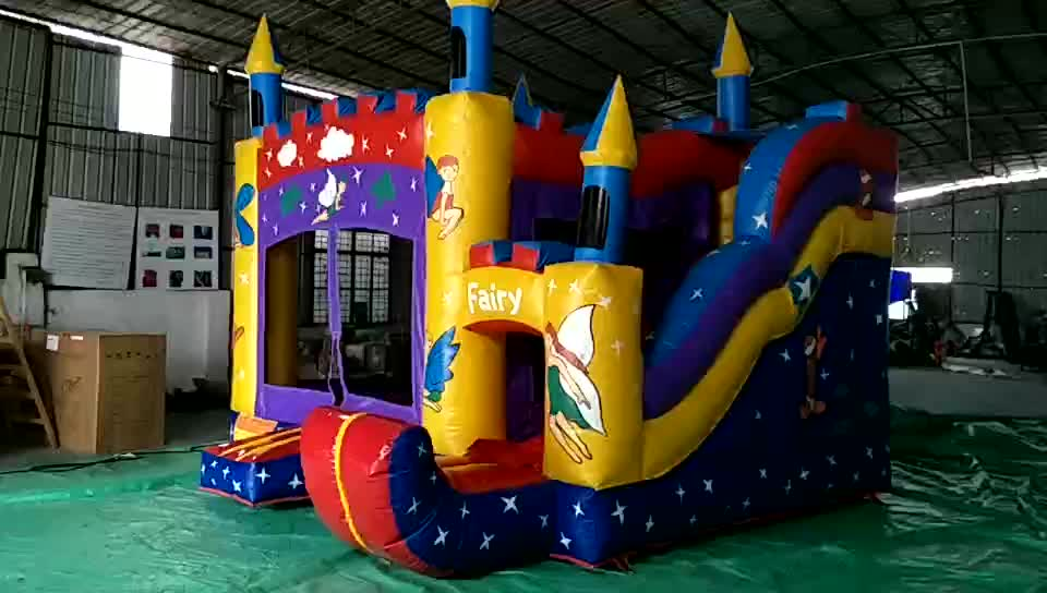 HOLA OEM inflatable bouncer/no brand simple inflatable castle for sale without blower