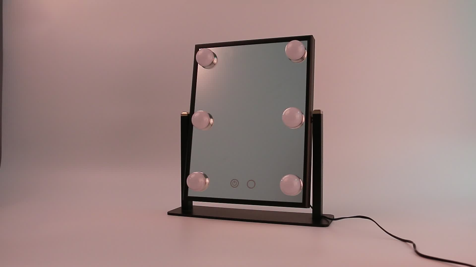 China Manufacturer Beauty Salon Black Vanity Mirror With Led Light Makeup Mirror Buy Beauty Salon Mirrors Vanity With Led Light Mirror Dental Mirror With Led Light Product On Alibaba Com