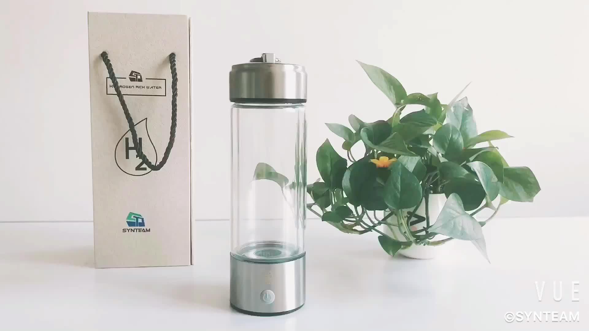 Hydrogen alkaline water bottle,hydrogen water generator,portable hydrogen water bottle