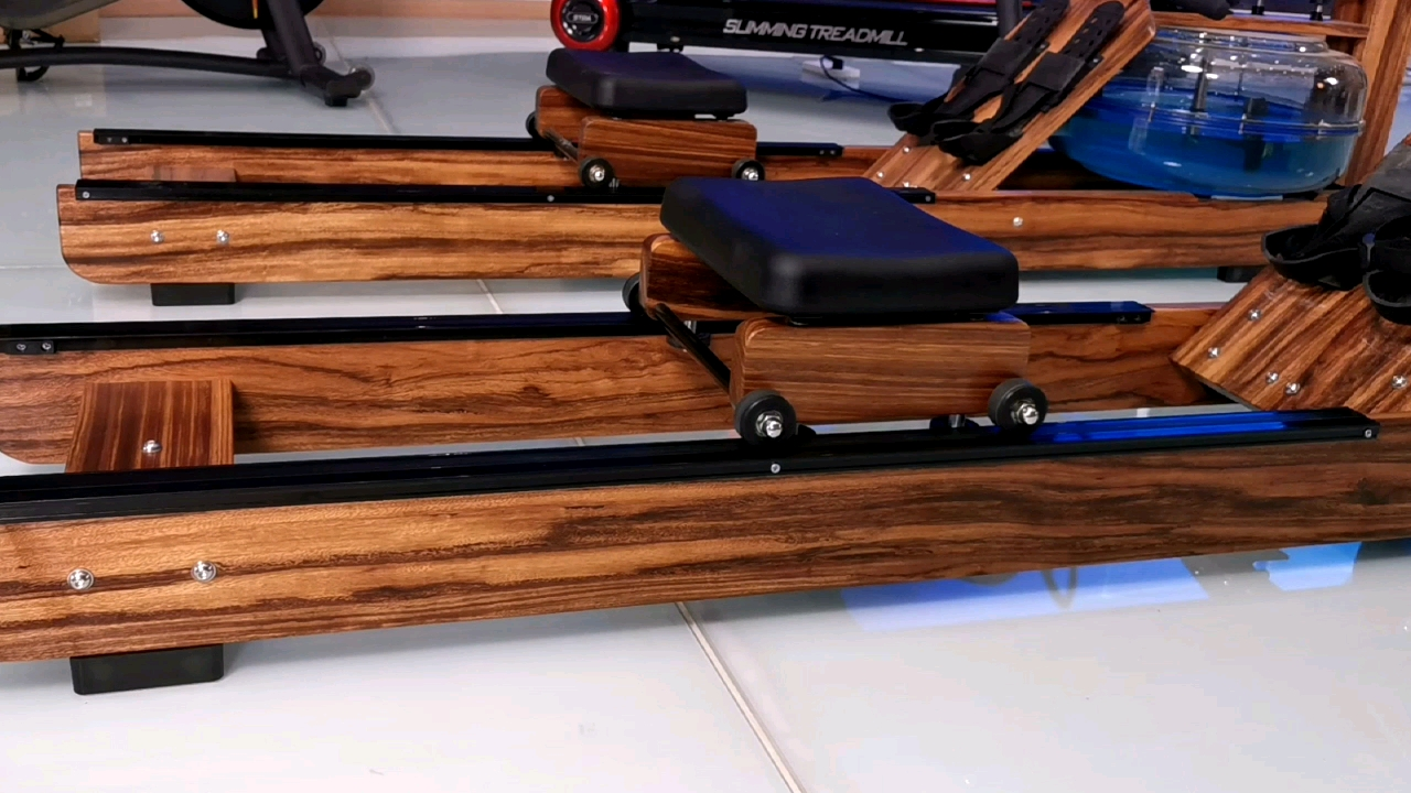 Home Wooden Rowing Machine