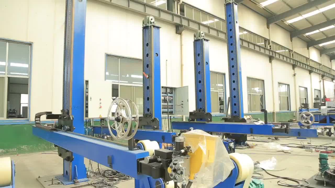 Automatic Tig Welding Manipulator Seam Welding Equipment Cylinder