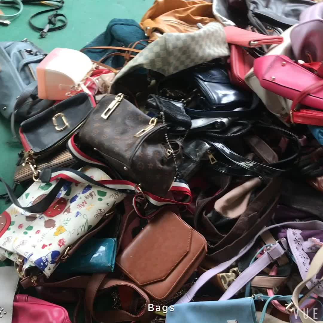 china used bags grade A mixed secondhand bags in bale
