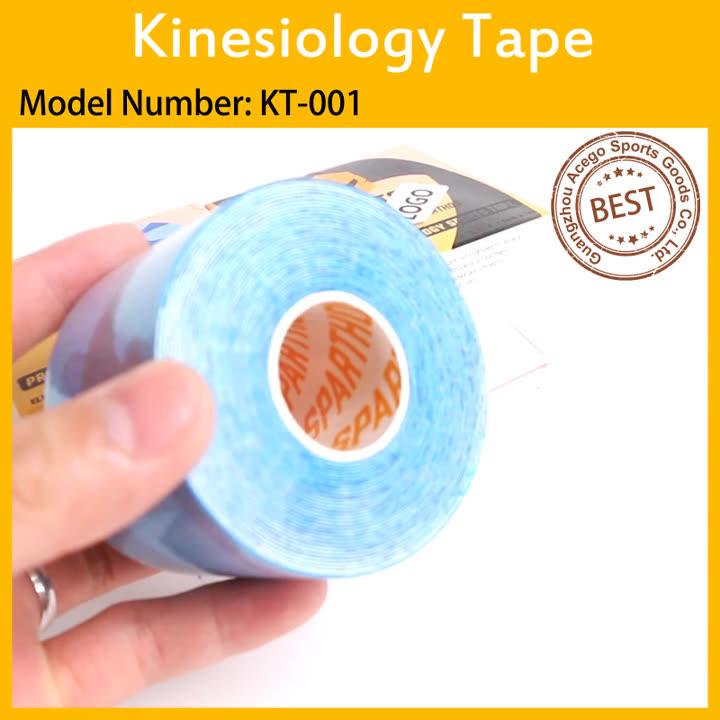 In Voorraad 2.5 cm Premium Spier Ondersteuning Sport Roll hypoallergeen Kinesiologie Tape voor Atleten