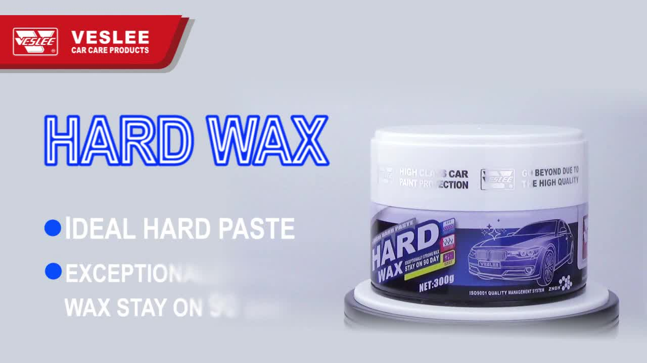 Veslee hand use 300g waterproof car hard wax with private label
