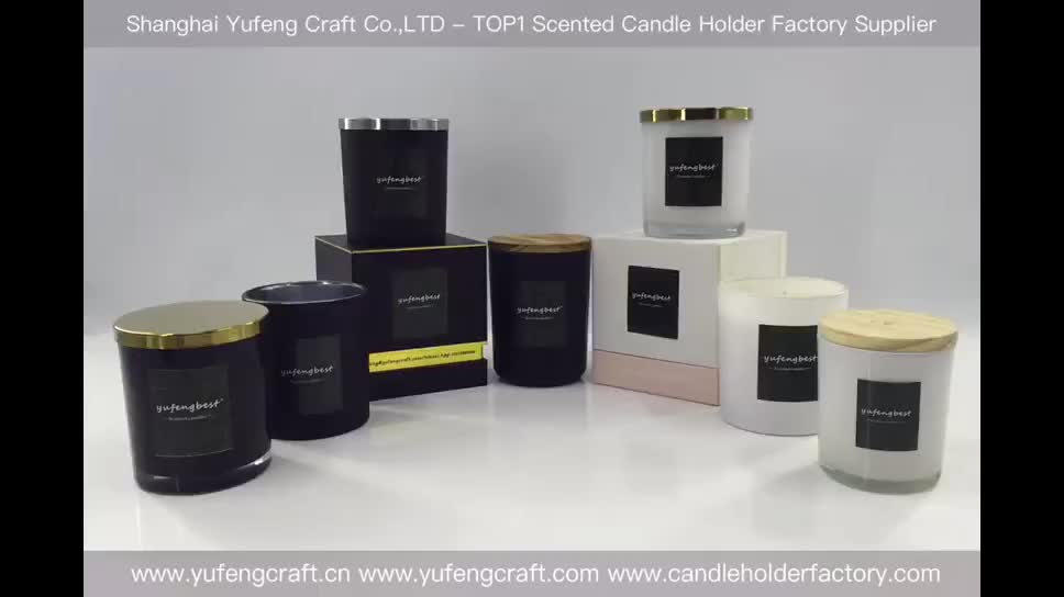 yufengbest electroplating candle container