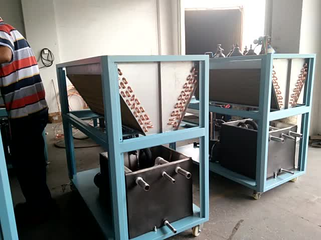 Long Life Water cooler Screw Chiller & Heat Pump With Low Consumption,Water Cooled Industrial Screw Chiller