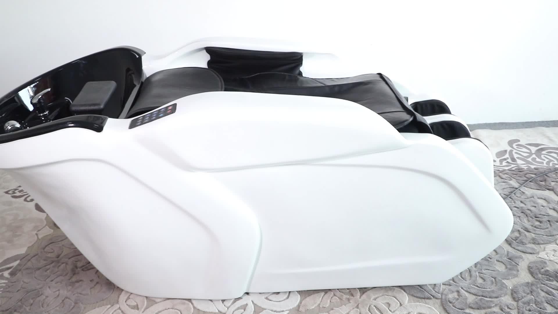 Di lusso letto shampoo capelli salone del mobile con funzione di massaggio