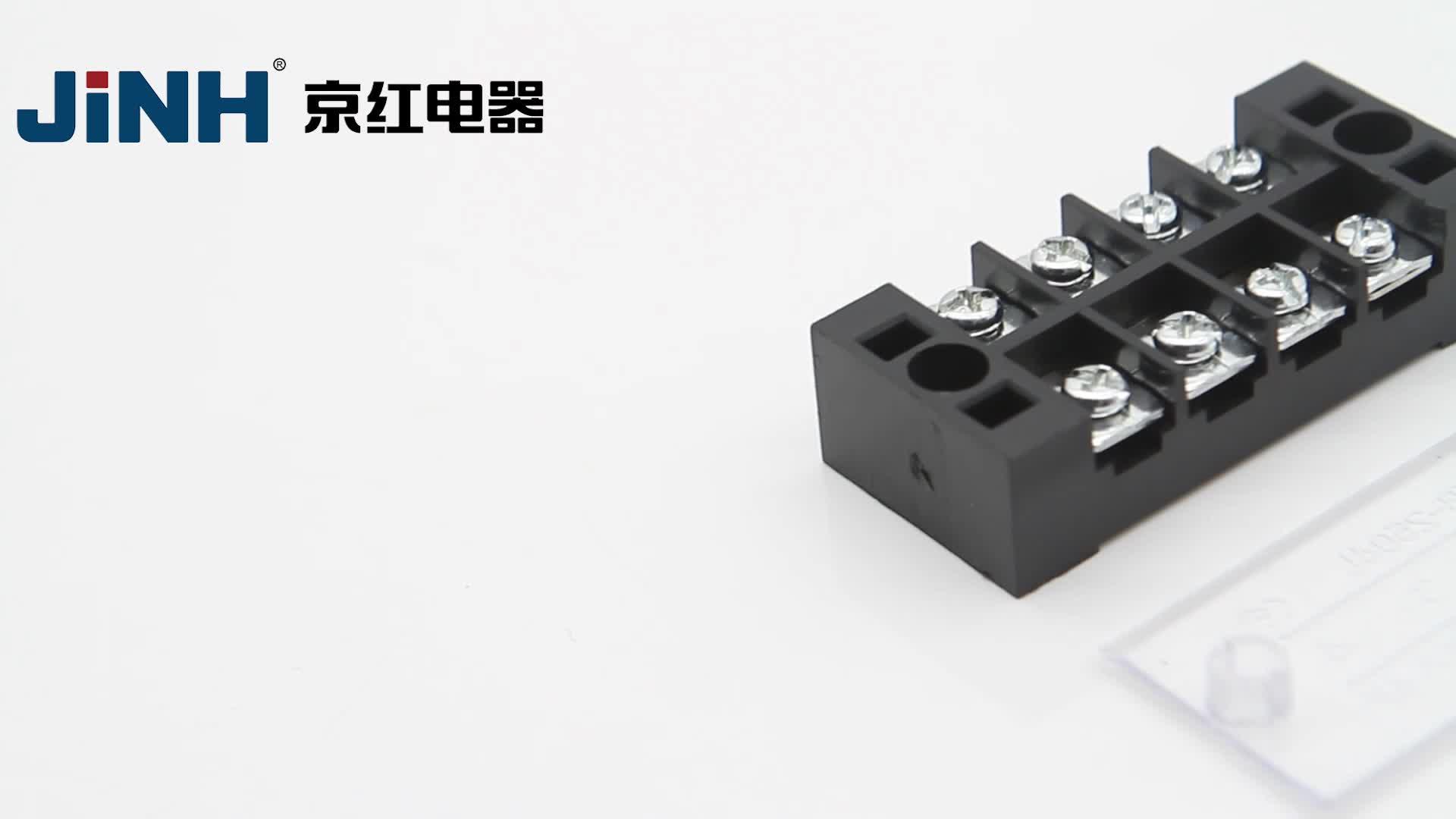 JINH, fábrica China, serie TB, bloques de terminales fijos, conectores de cables Automotrices