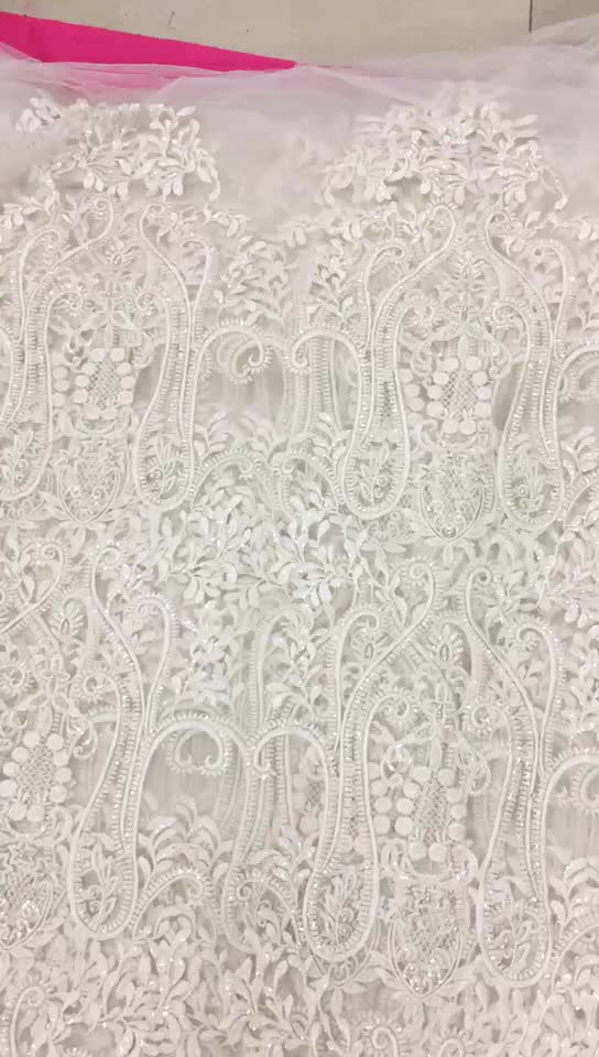 high quality guangzhou fabric tulle lace