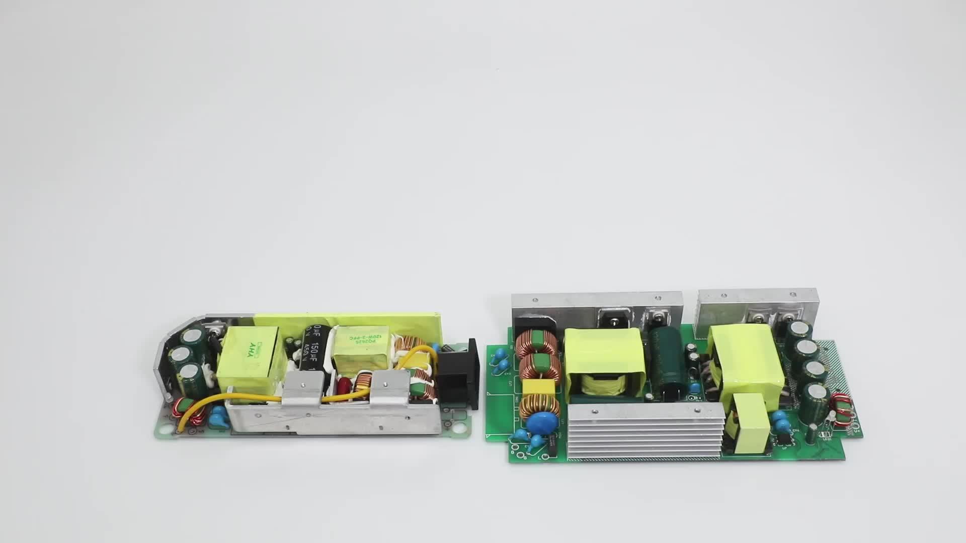 Ac dc adattatore 220v a 12v 15a 180W alimentazione elettrica di commutazione smps 180w con CE FCC ROHS