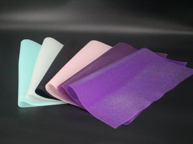 TPU sheet with shiny surface for making lady shoes & handbag