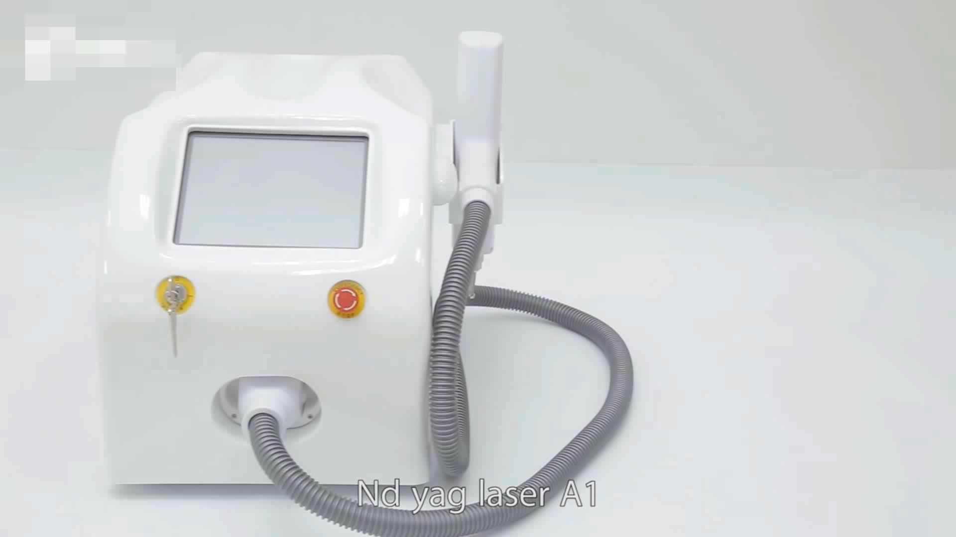 Nd yag laser sobrancelha lavagem/máquina de remoção de tatuagem a laser/fabricante