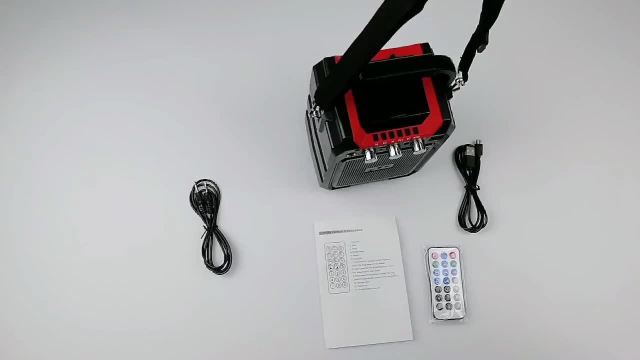 Comercio al por mayor de China de importación Sub Woofer Altavoz Bluetooth Mini altavoz inalámbrico Tweeter de Audio Bluetooth orador megáfono