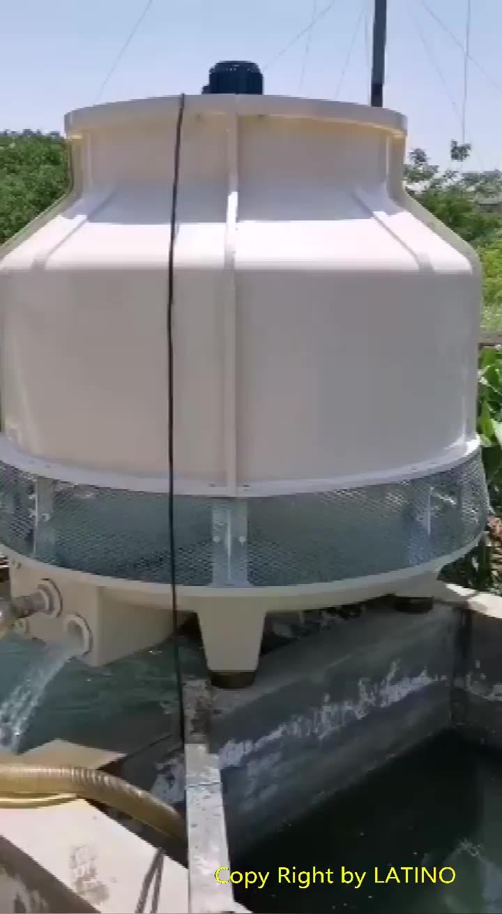 FRP Hoge Kwaliteit Pvc Vulling laag geluidsniveau tegenstroom Frp water koeltoren
