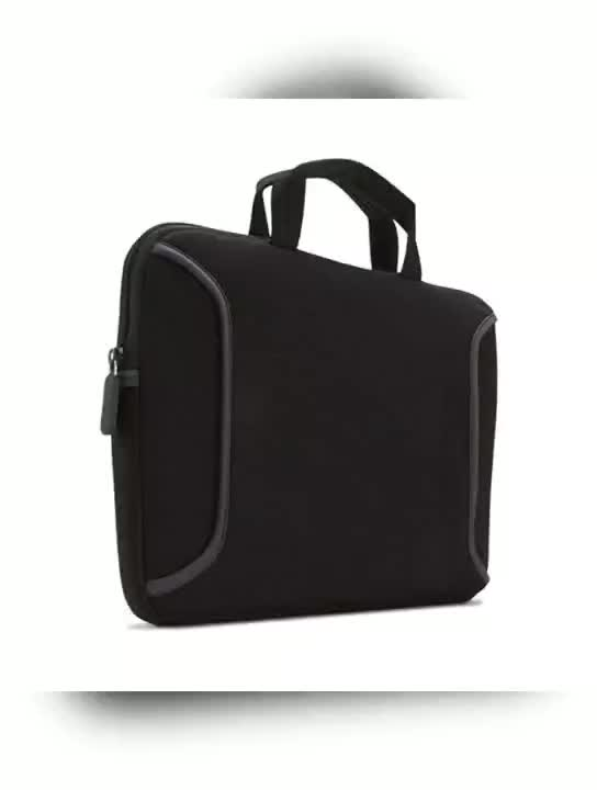 High Quality Waterproof  Neoprene Laptop Sleeve  Bag With Handle and Pocket for Apple Macbook Air Pro, Dell, HP