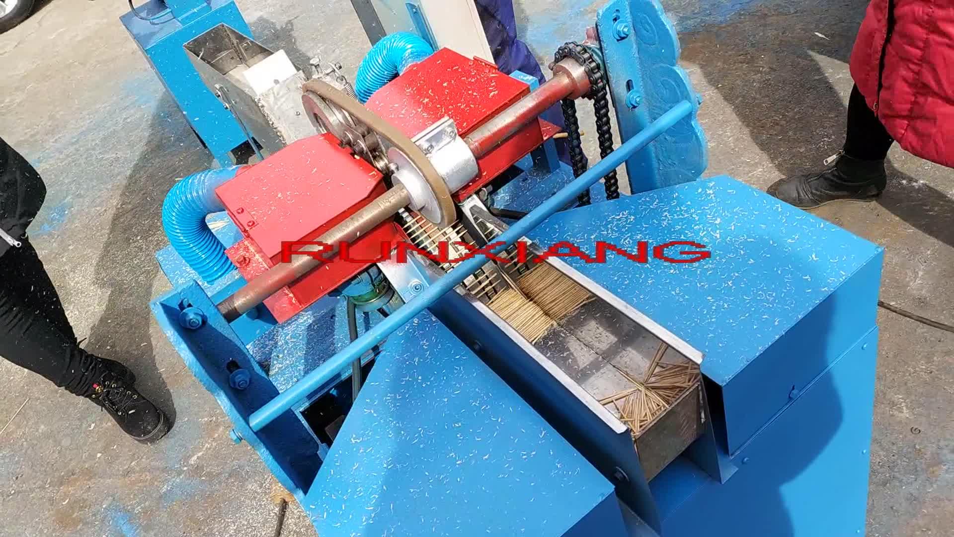 Kürdan üretim makinesi / Ahşap kürdan işleme makinesi / Otomatik bambu kürdan makinesi fiyatı