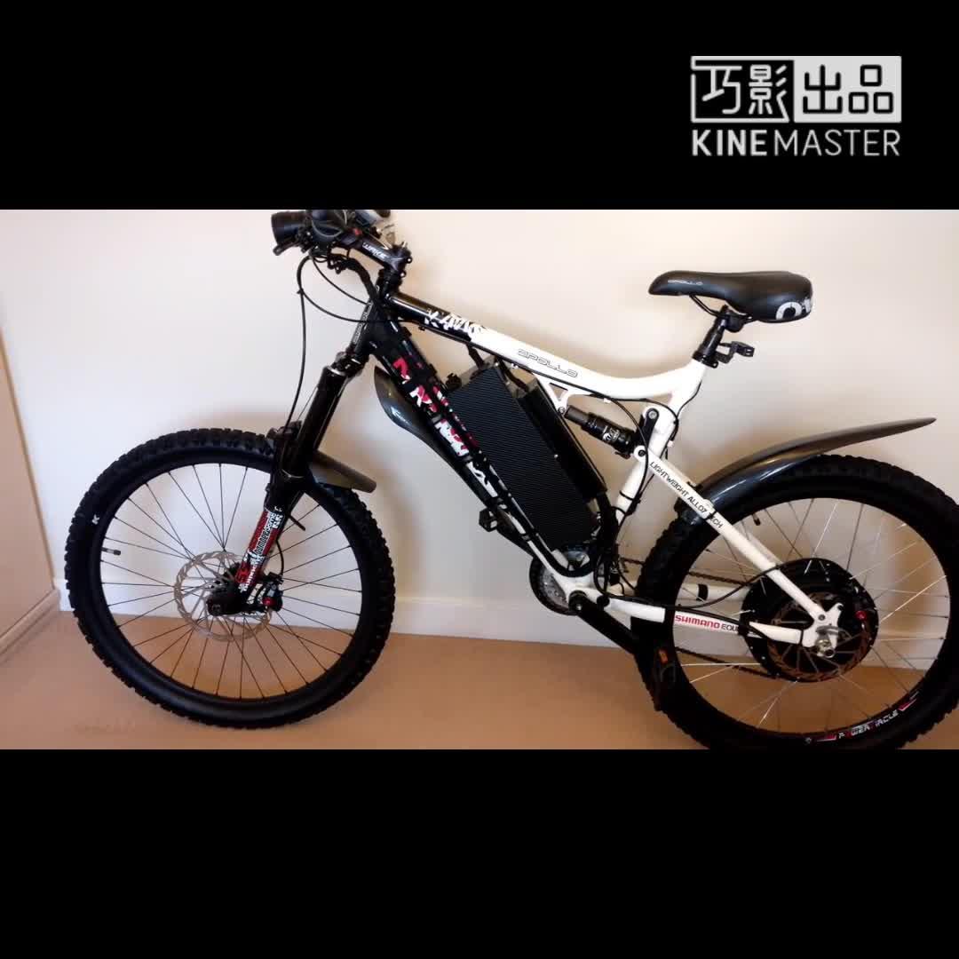 Kit de conversão de ebike de motor sem escova de 3000 w venda quente ce