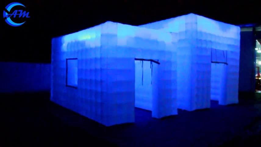 Maison gonflable géante de tente avec fenêtre blanc tente de mariage chine